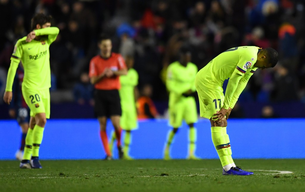 Barcelona cannot afford a repeat of last week's dismal showing. (Photo by David Ramos/Getty Images)