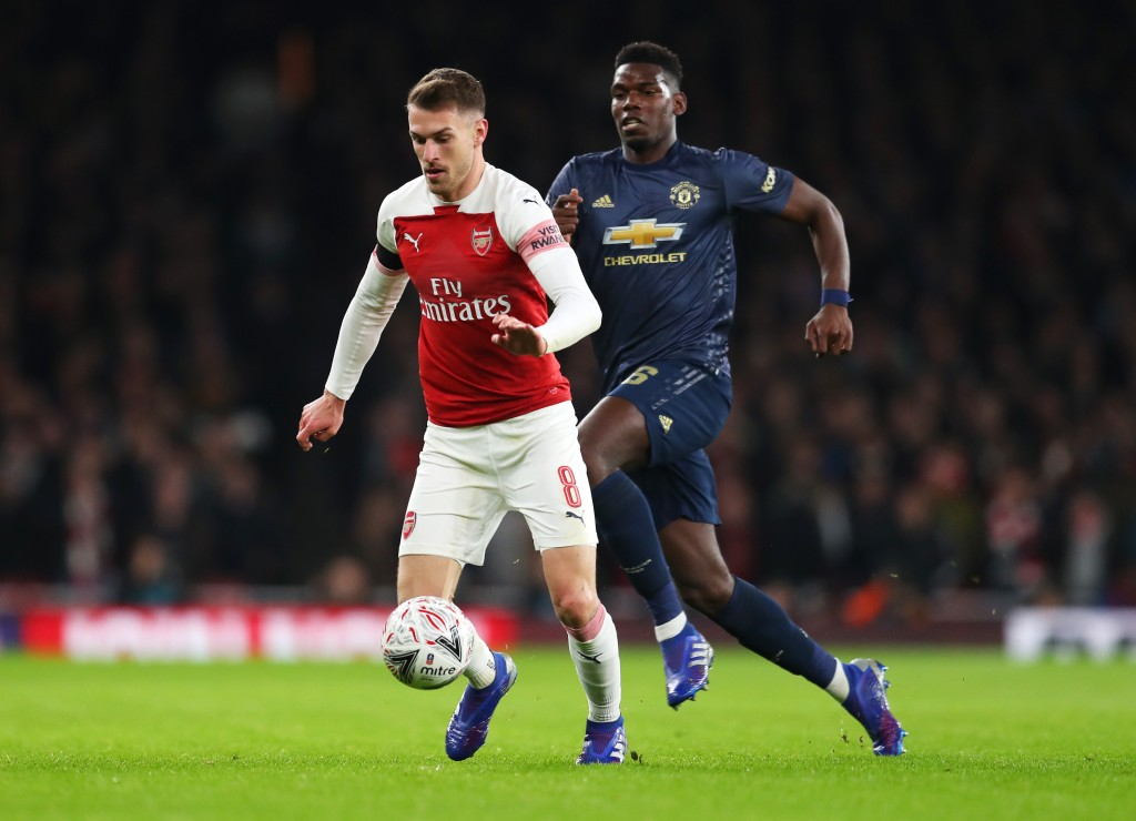 Arsenal's best player on the night (Photo by Catherine Ivill/Getty Images)