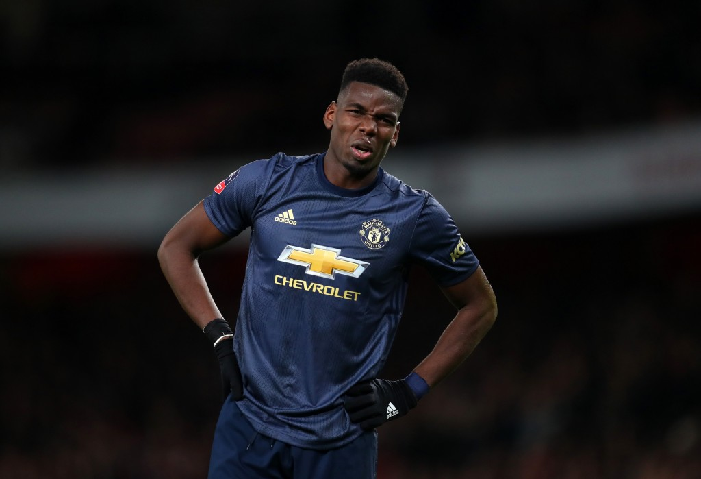 Will Pogba's second coming at Manchester United end when Real Madrid or Barcelona come calling? (Photo by Catherine Ivill/Getty Images)