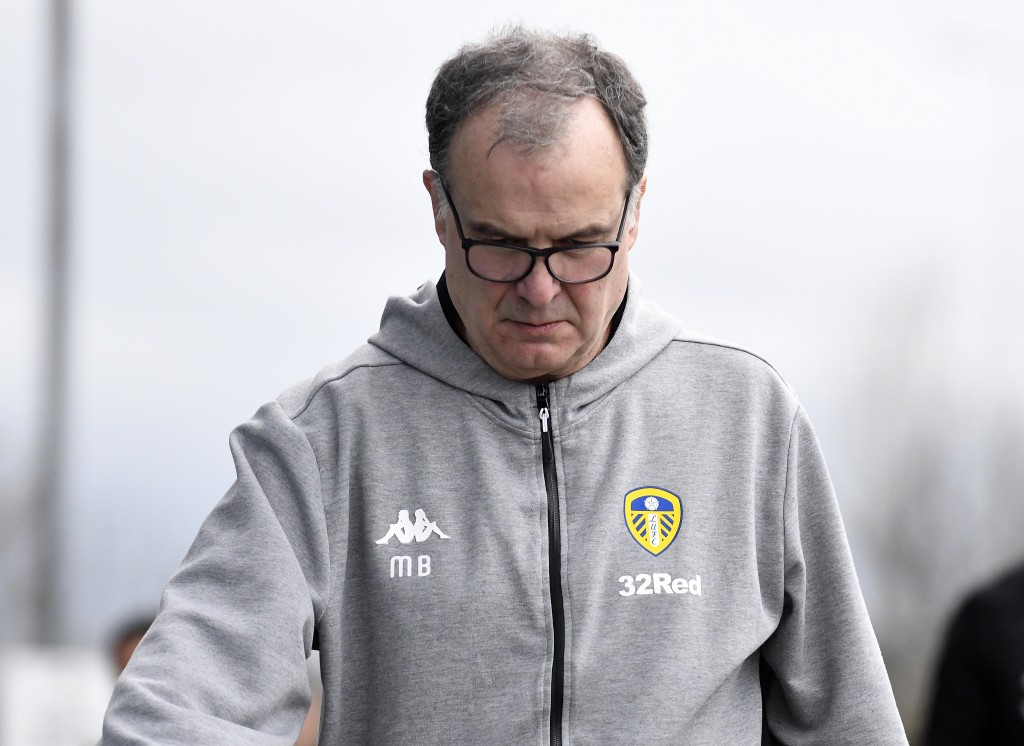 Bielsa does things only Bielsa understands. (Photo by George Wood/Getty Images)