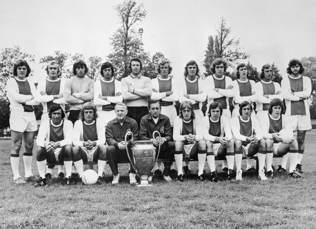 Ajax became an institution of European football in the 1970s. (Photo by Central Press/Hulton Archive/Getty Images)