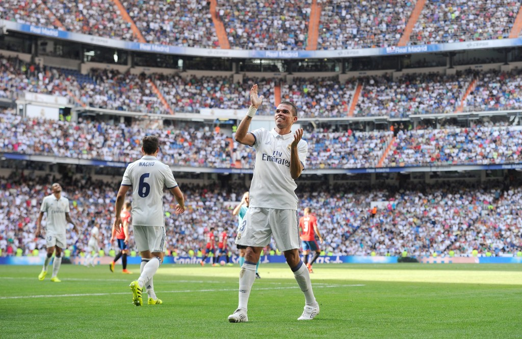 Set to don the famous white strip of Real Madrid again? (Photo by Denis Doyle/Getty Images)