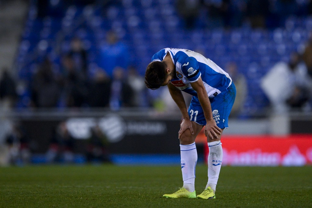 The heads have started dropping at Espanyol after a strong start to the league campaign. (Photo by Josep Lago/AFP/Getty Images)