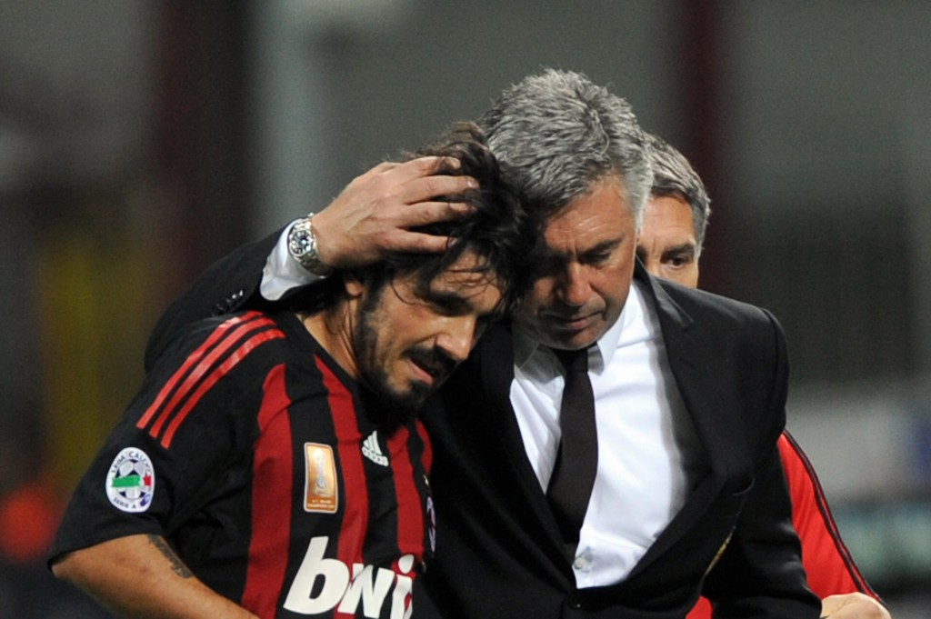 Can Gattuso get one over his former manager at the second time of trying? (Photo by Giuseppe Cacace/AFP/Getty Images)