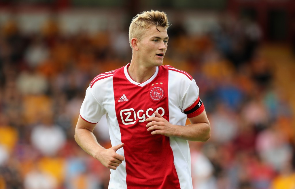 Arsenal emerge as surprise contenders to sign Ajax defender Matthijs De Ligt