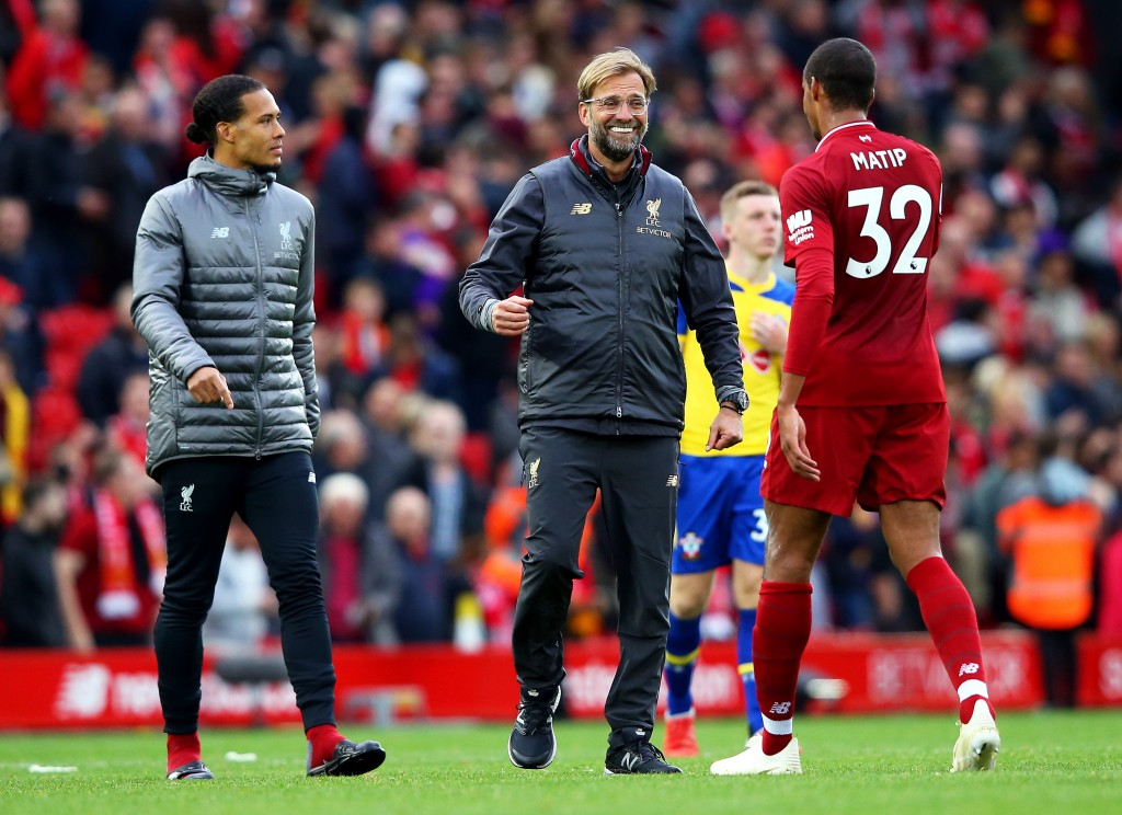 Matip will need to be the defensive leader for Klopp's side on Tuesday. (Photo by Alex Livesey/Getty Images)