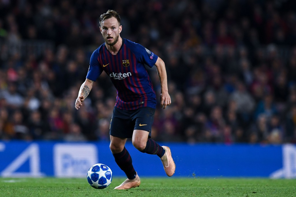Will Rakitic's time at Barcelona come to an end in the summer with a move to Inter Milan? (Photo by David Ramos/Getty Images)