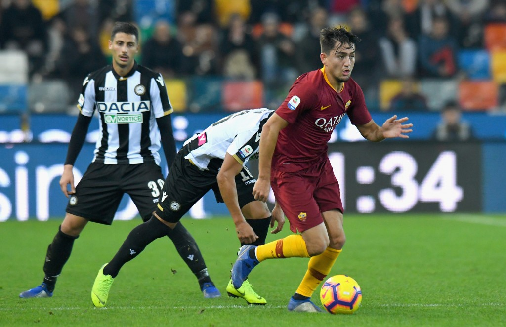 Leaving his mark at AS Roma. (Picture Courtesy - AFP/Getty Images)