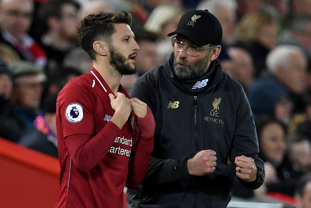 Once a trusted lieutenant for Jurgen Klopp, Adam Lallana has fallen down the pecking order in recent seasons. (Photo by Paul Ellis/AFP/Getty Images)