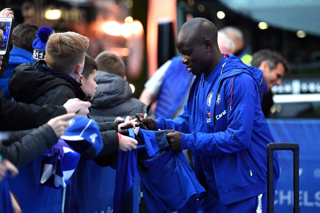 A fan favourite at Chelsea, will Kante choose to move to PSG? (Photo by Justin Setterfield/Getty Images)