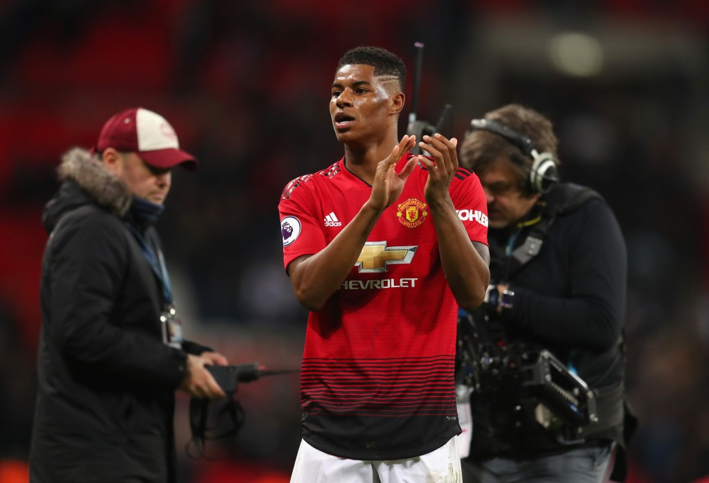 Will Rashford bid adieu to Manchester United to join Barcelona? (Photo by Catherine Ivill/Getty Images)