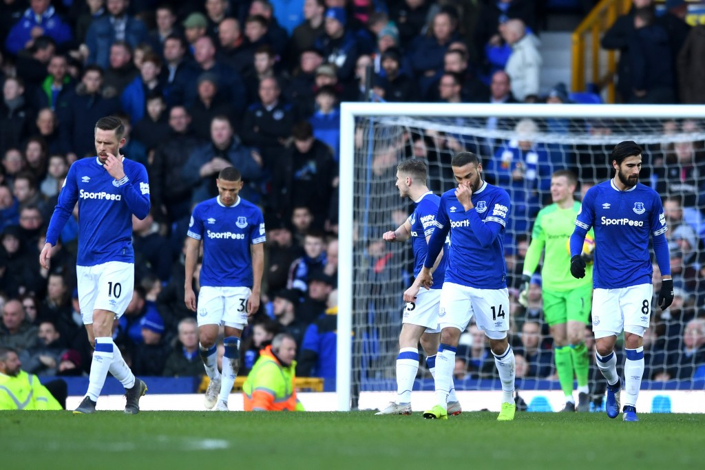 Everton have been unable to find any semblance of consistency of late. (Photo by Gareth Copley/Getty Images)