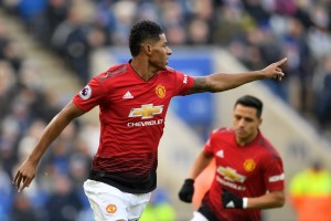 Leicester 0-1 Manchester United: Early Rashford winner in nervy win [Tweets]
