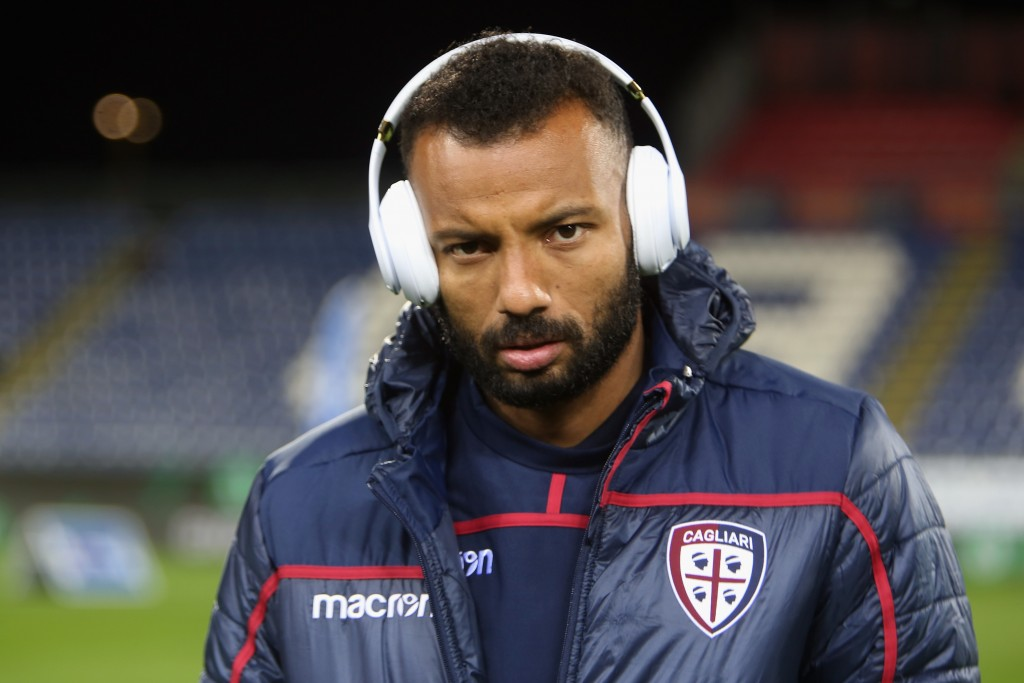 CAGLIARI, ITALY - FEBRUARY 04: Joao Pedro of Cagliari looks on during the Serie A match between Cagliari and Atalanta BC at Sardegna Arena on February 4, 2019 in Cagliari, Italy. (Photo by Enrico Locci/Getty Images)