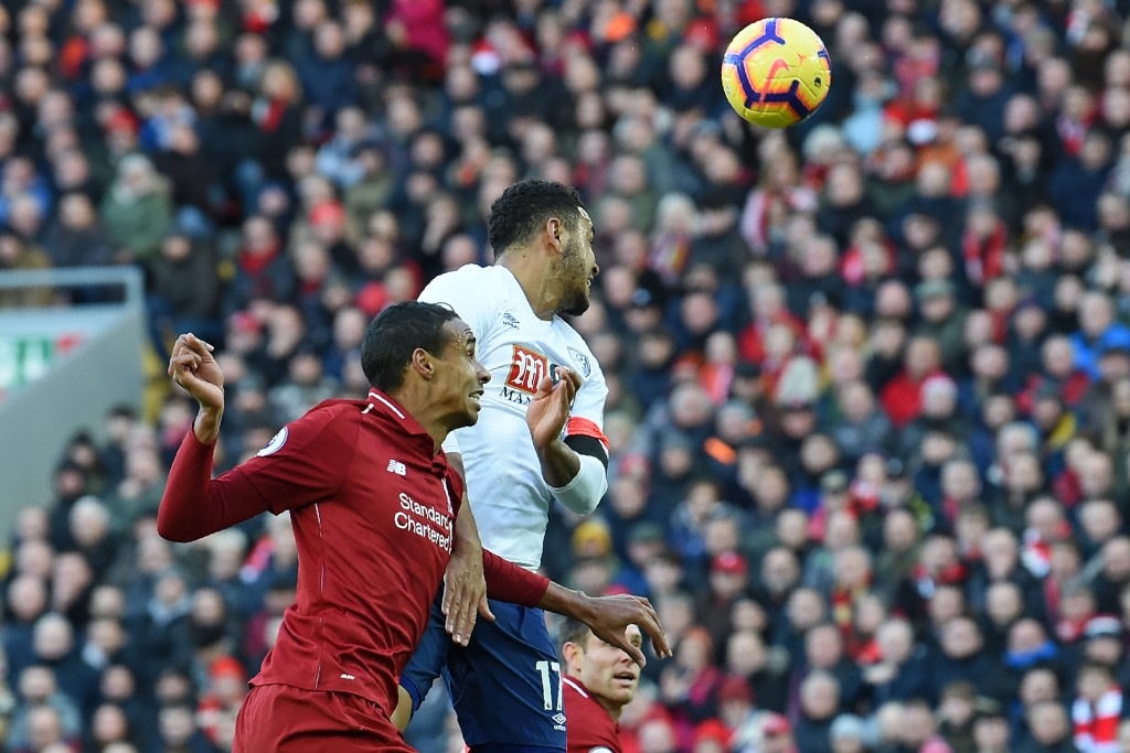 Matip impressed in defence (Photo by PAUL ELLIS/AFP/Getty Images)