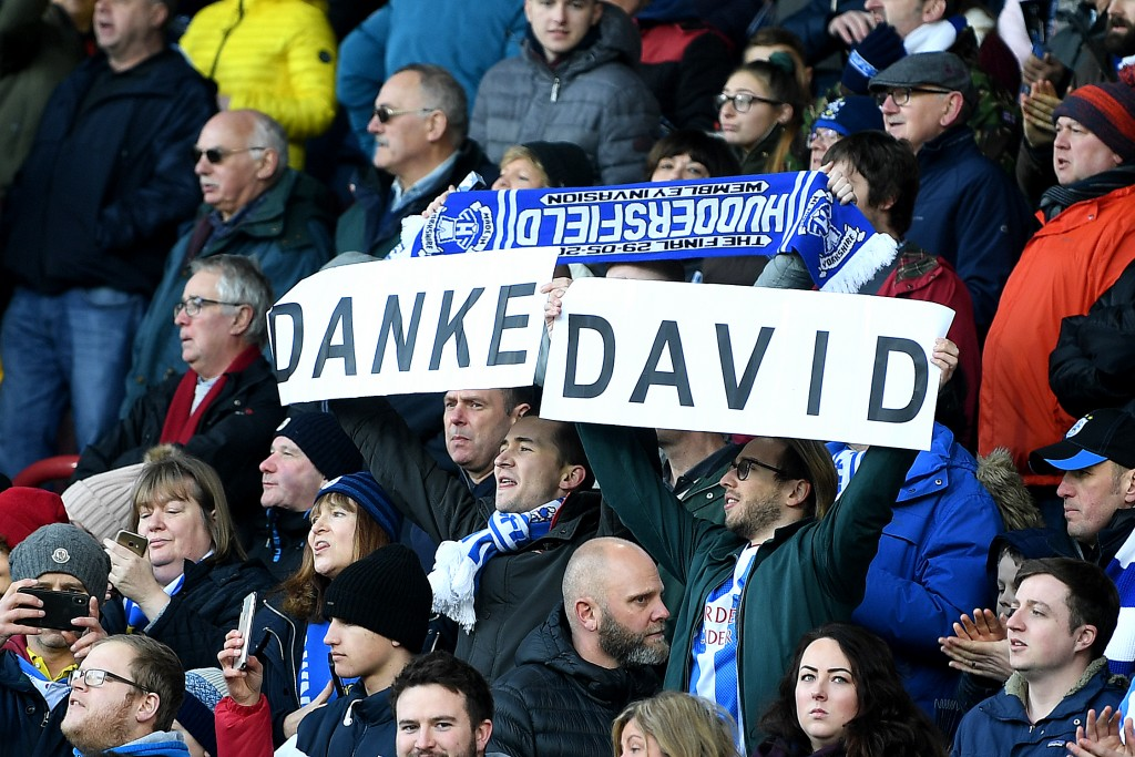 David Wagner remained a darling of the fans till the very end despite Huddersfield's struggles this season. (Photo by Michael Regan/Getty Images)
