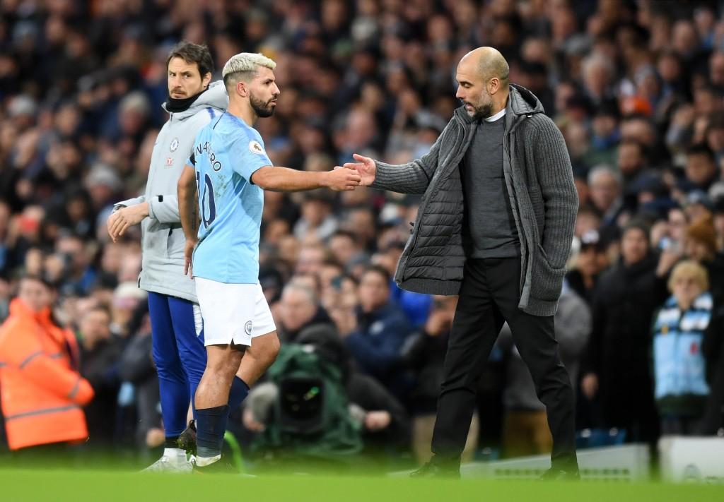 Guardiola's go-to man. (Photo by Michael Regan/Getty Images)