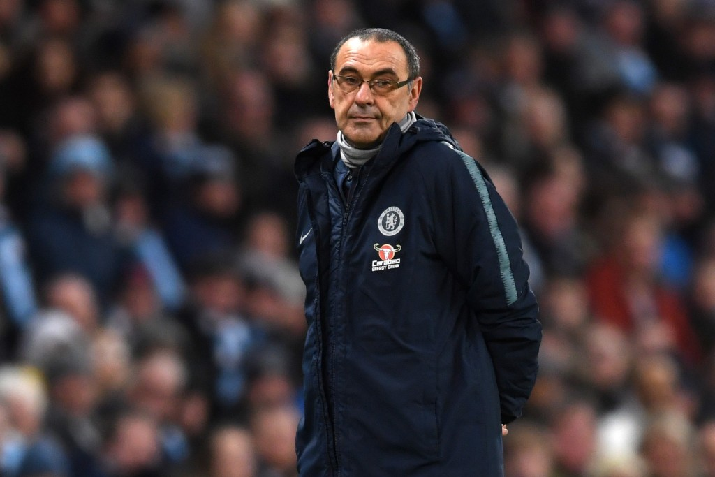 Monday's FA Cup tie might be key to Sarri's Chelsea future. (Photo by Laurence Griffiths/Getty Images)