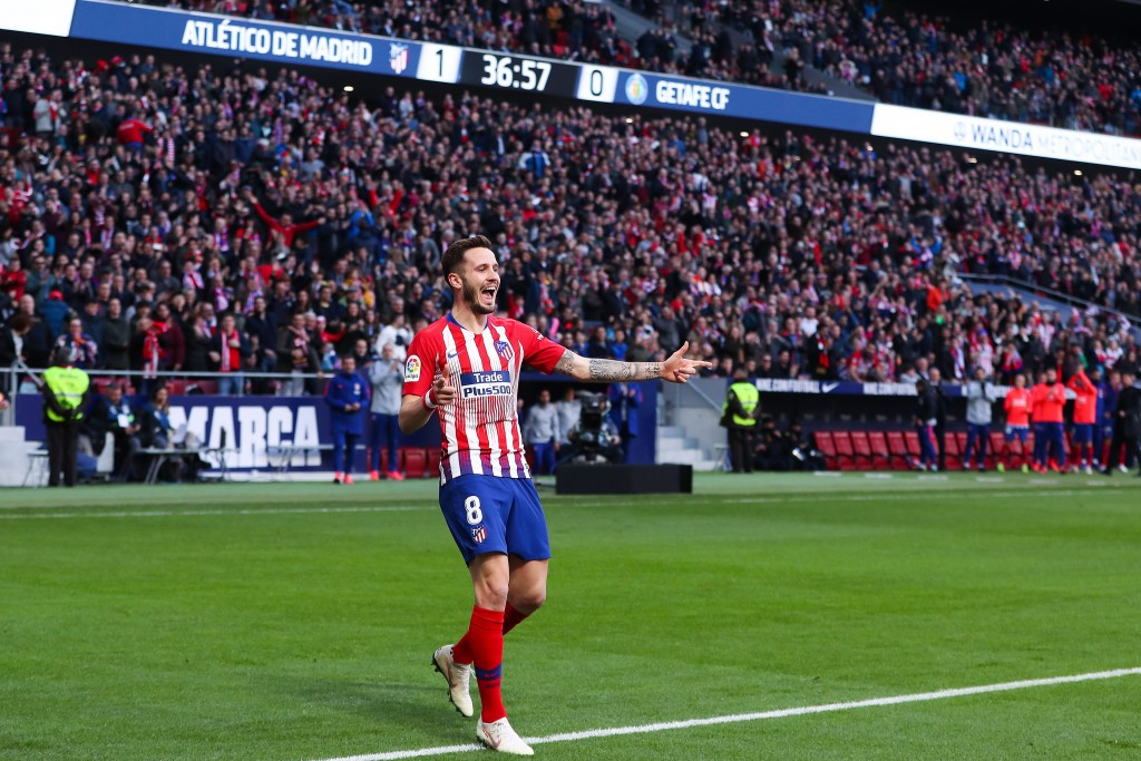 What does the future hold for Saul Niguez? (Photo by Gonzalo Arroyo Moreno/Getty Images)