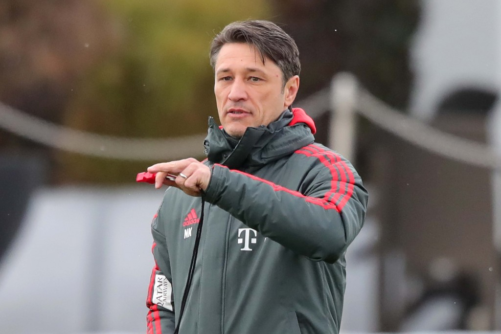 MUNICH, GERMANY - JANUARY 28: Niko Kovac, head coach of Muenchen looks on during a FC Bayern Muenchen training session at Saebener Strasse training ground on January 28, 2019 in Munich, Germany. (Photo by Alexander Hassenstein/Bongarts/Getty Images)