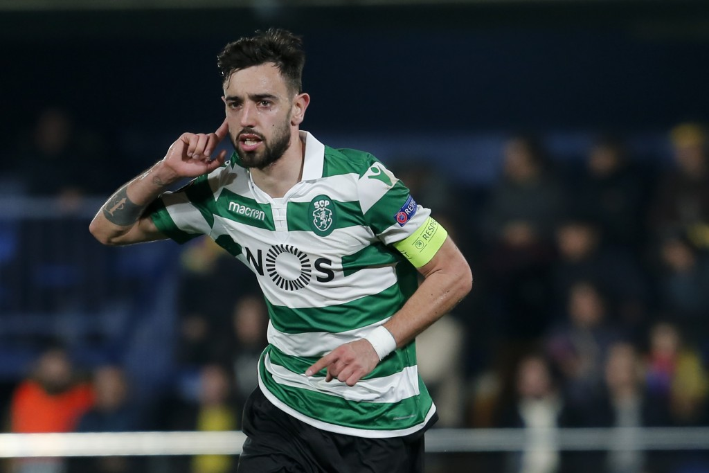 First Liverpool, now Manchester United - Bruno Fernandes is a man in demand (Photo credit should read PAU BARRENA/AFP/Getty Images)