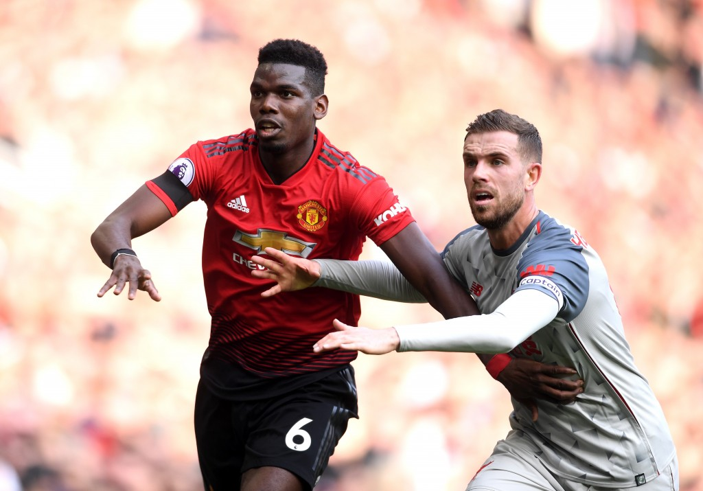Disciplined display from Pogba (Photo by Laurence Griffiths/Getty Images)