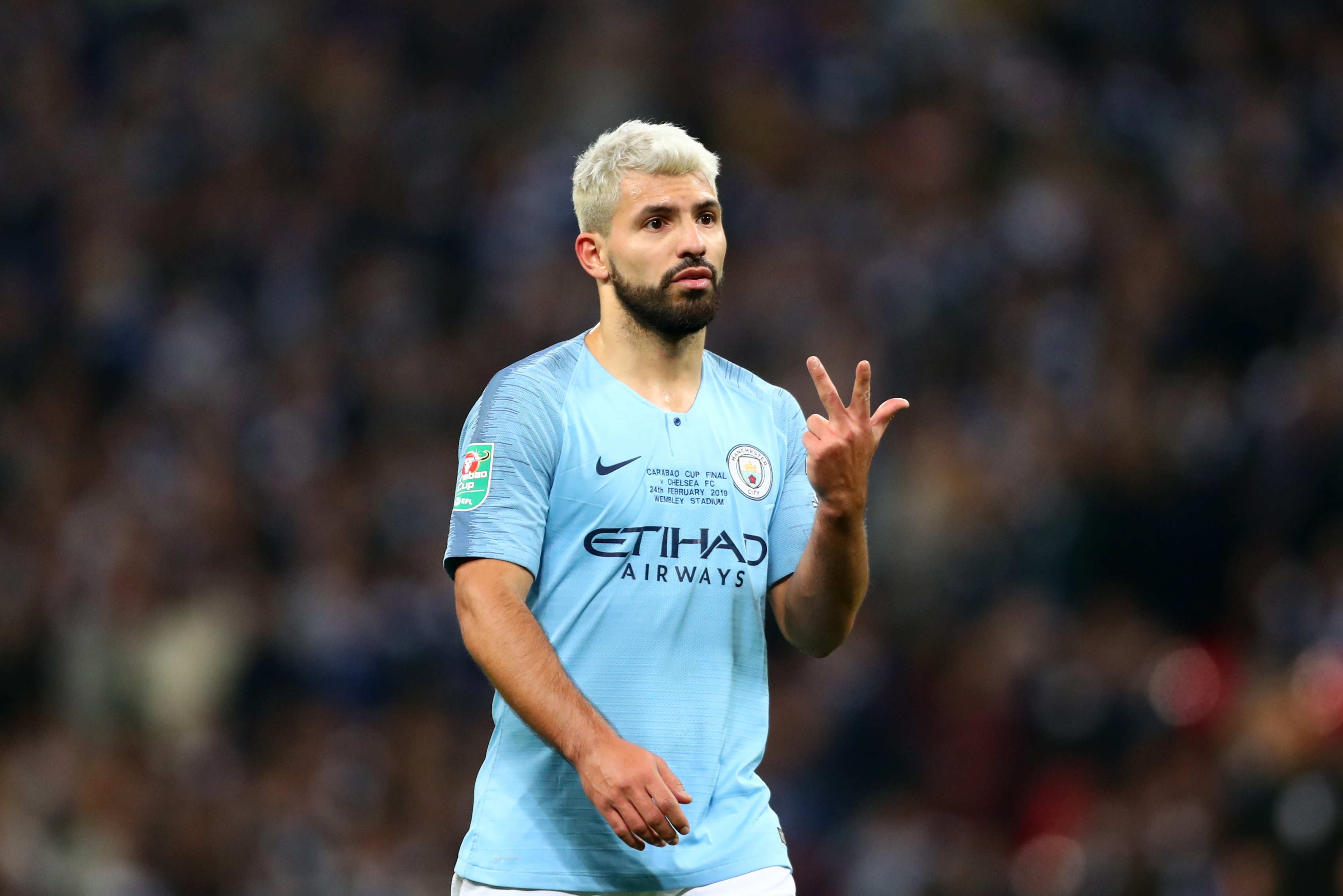 Manchester City will be without Sergio Aguero (Photo by Clive Rose/Getty Images)
