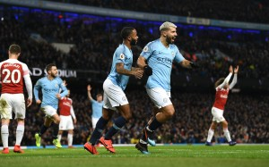 Manchester City 3-1 Arsenal: Emery's Gunners schooled by Aguero masterclass [Tweets]