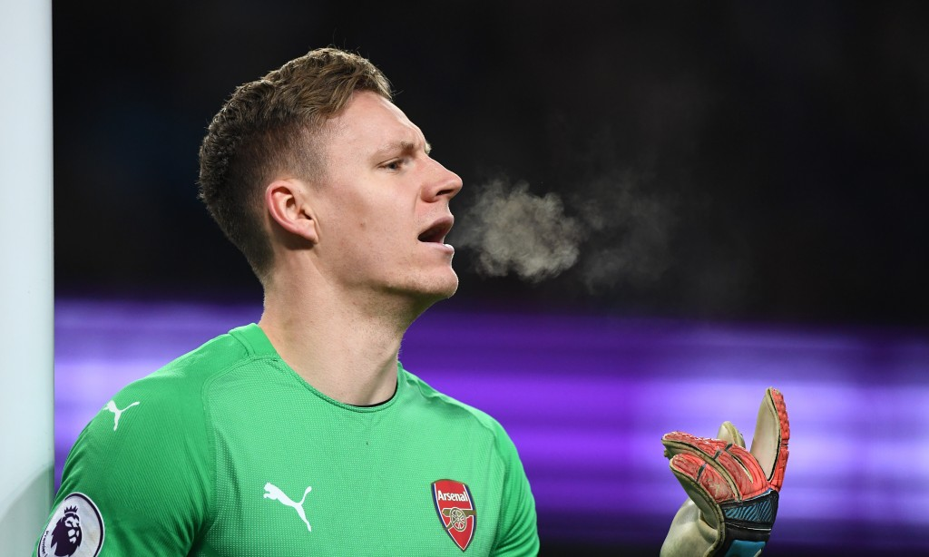 Leno was a standout for Arsenal despite conceding twice. (Photo by Stu Forster/Getty Images)