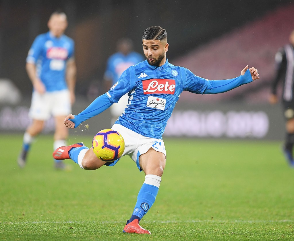 Liverpool have fired the opening shot in their pursuit of Insigne. (Picture Courtesy - AFP/Getty Images)