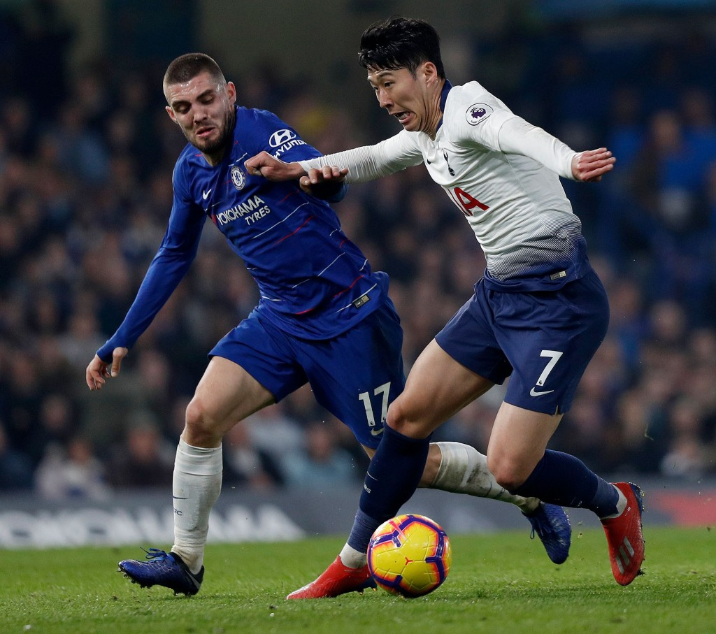 Kovacic was a solid presence for Chelsea (Photo by ADRIAN DENNIS/AFP/Getty Images)