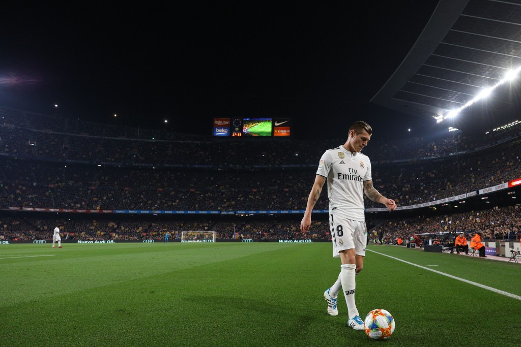 Toni Kroos is available once again for Real Madrid. (Photo by Angel Martinez/Getty Images)