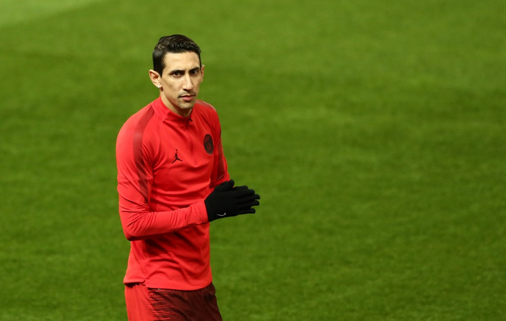 Angel Di Maria reacts to being booed by fans during PSG clash