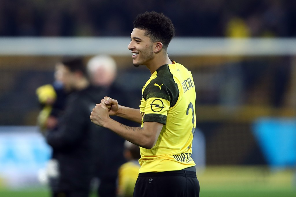 Jadon Sancho must work harder, says Borussia Dortmund boss Lucien Favre