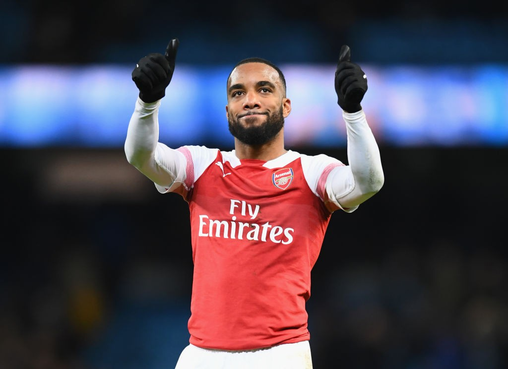 Lacazette on the rise. (Photo courtesy: AFP/Getty)