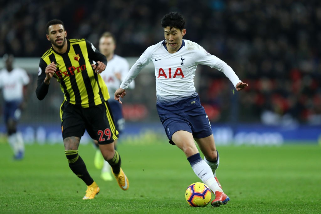 Will Son compensate the goals Tottenham miss during Kane's absence? (Photo courtesy: AFP/Getty)