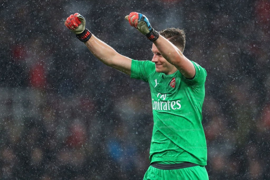 Leno the hero as Arsenal beat United. (Photo courtesy: AFP/Getty)