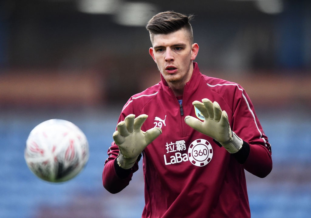 Nick Pope has emerged as a target for Arsenal and Petr Cech's replacement for next season. (Photo courtesy: AFP/Getty)
