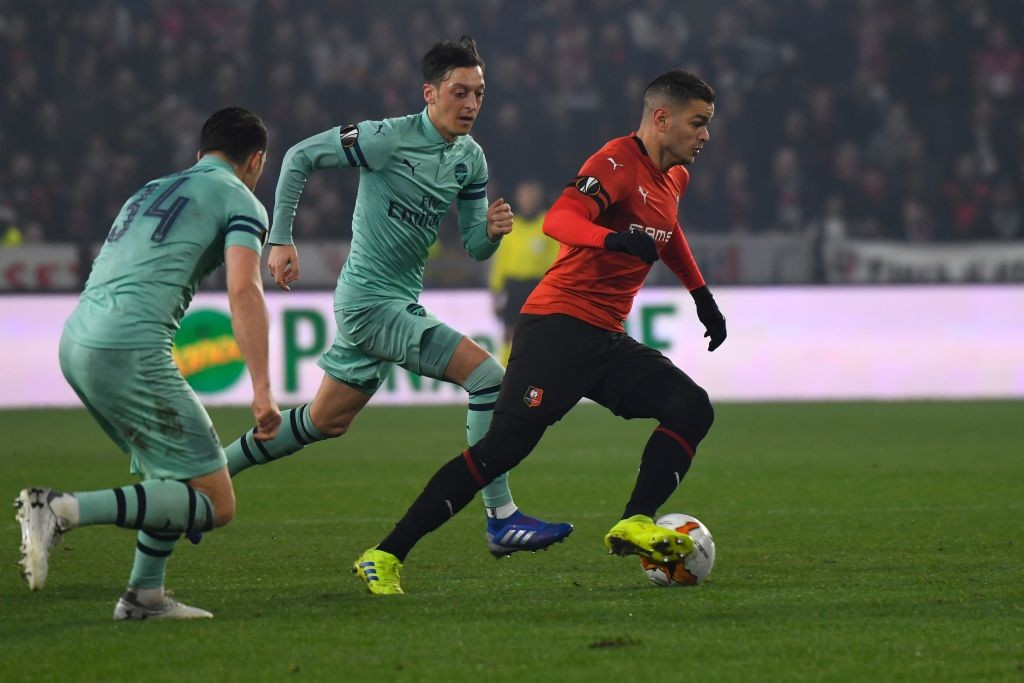 Unlucky for Ozil that others around him did not have a good performance. (Photo courtesy: AFP/Getty)