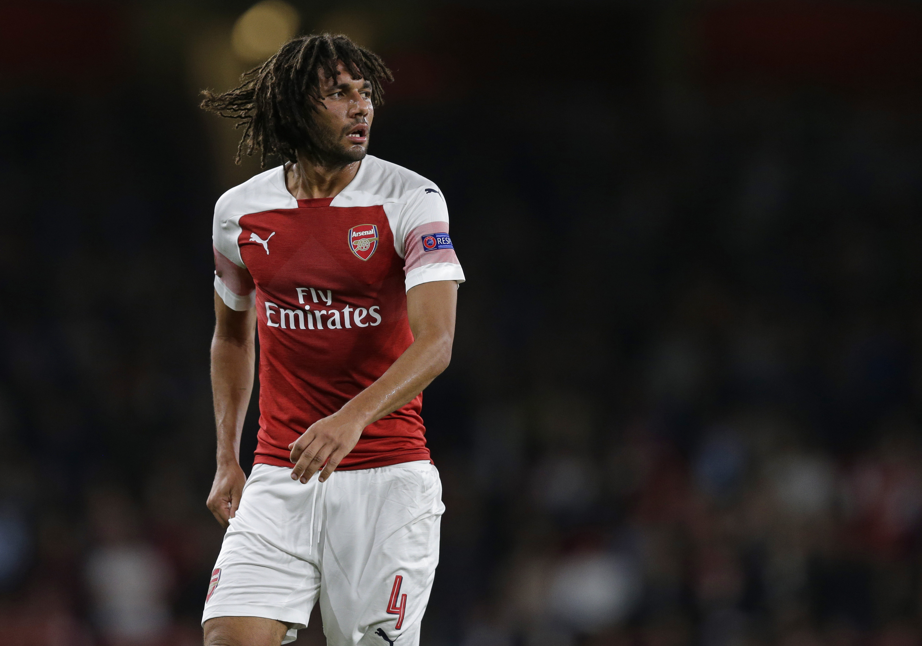 Elneny could leave Arsenal and join West Ham. (Photo by Henry Browne/Getty Images)