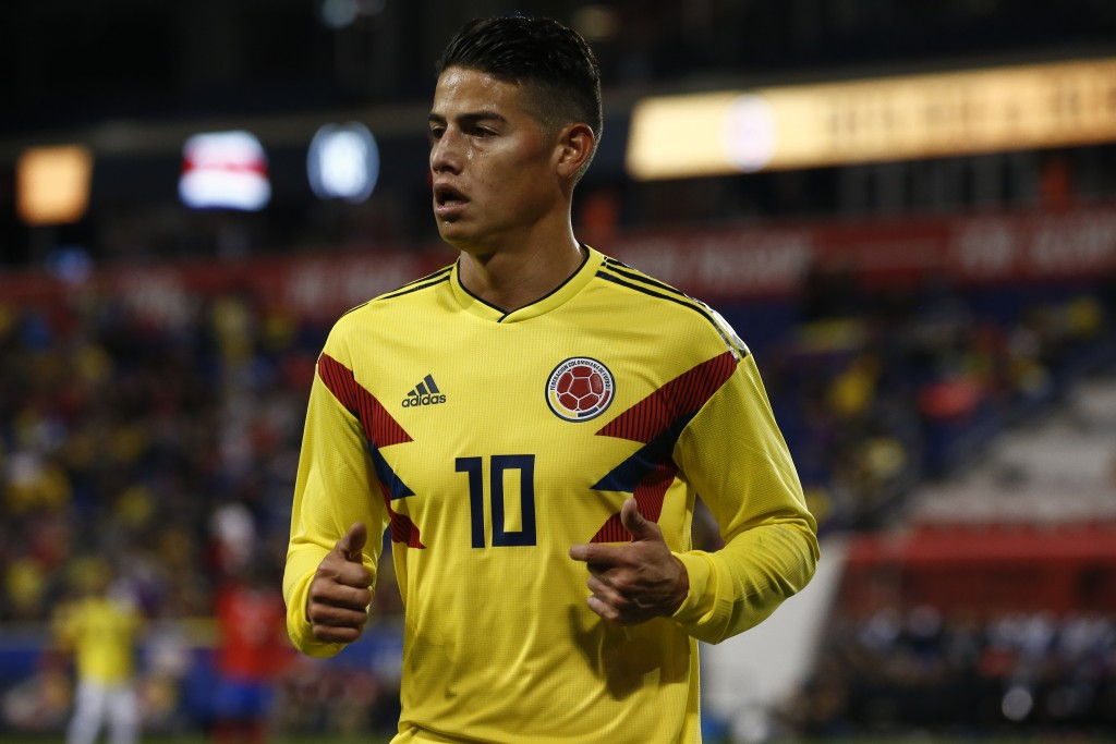 Colombia's key man. (Photo by Jeff Zelevansky/Getty Images)