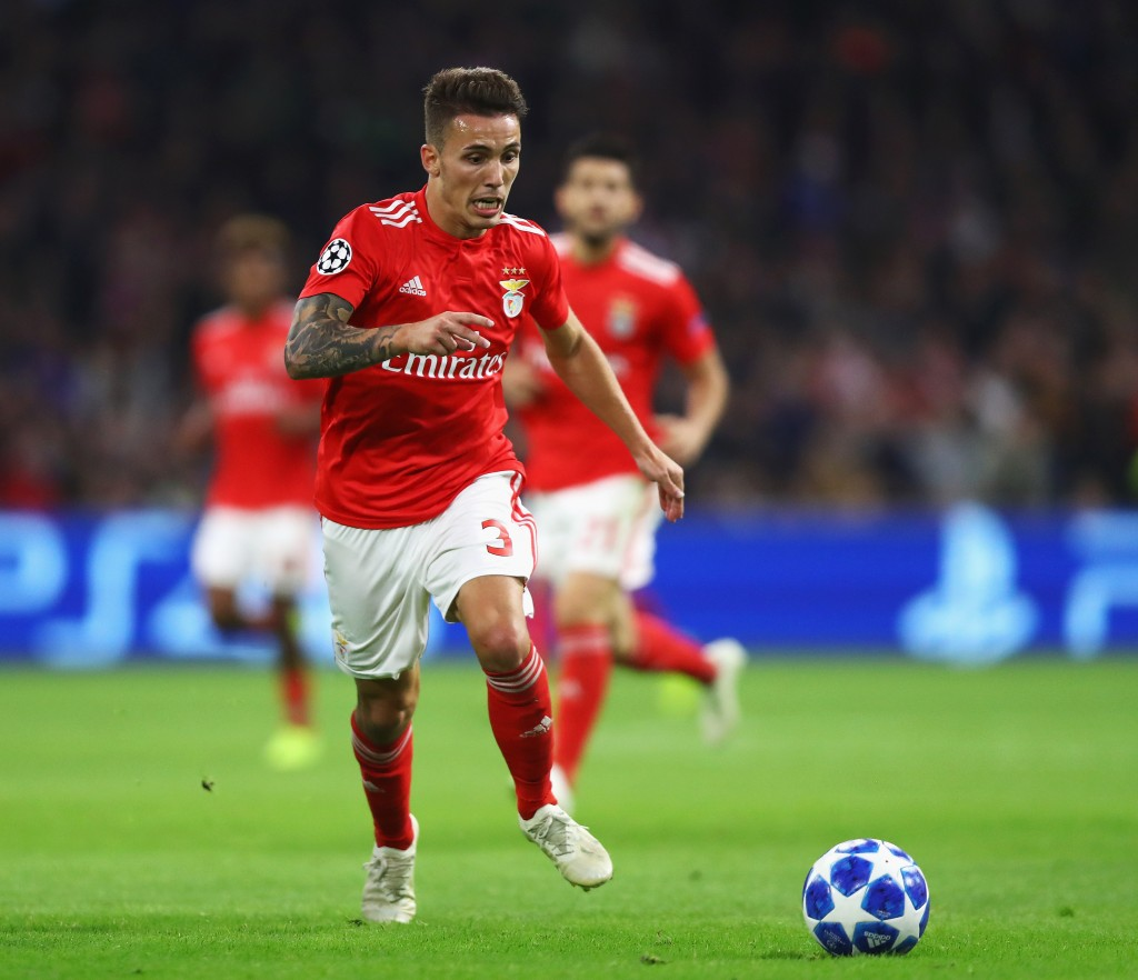 Grimaldo attracting interest from Premier League (Photo by Dean Mouhtaropoulos/Getty Images)