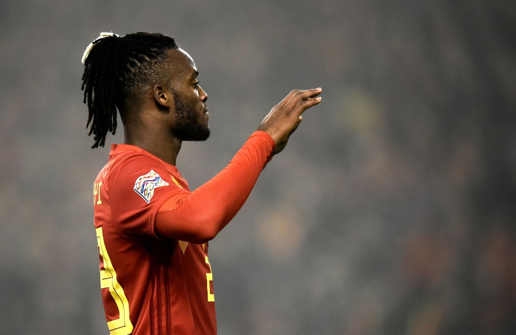 Will Batshuayi make his chance count? (Photo by John Thys/AFP/Getty Images)