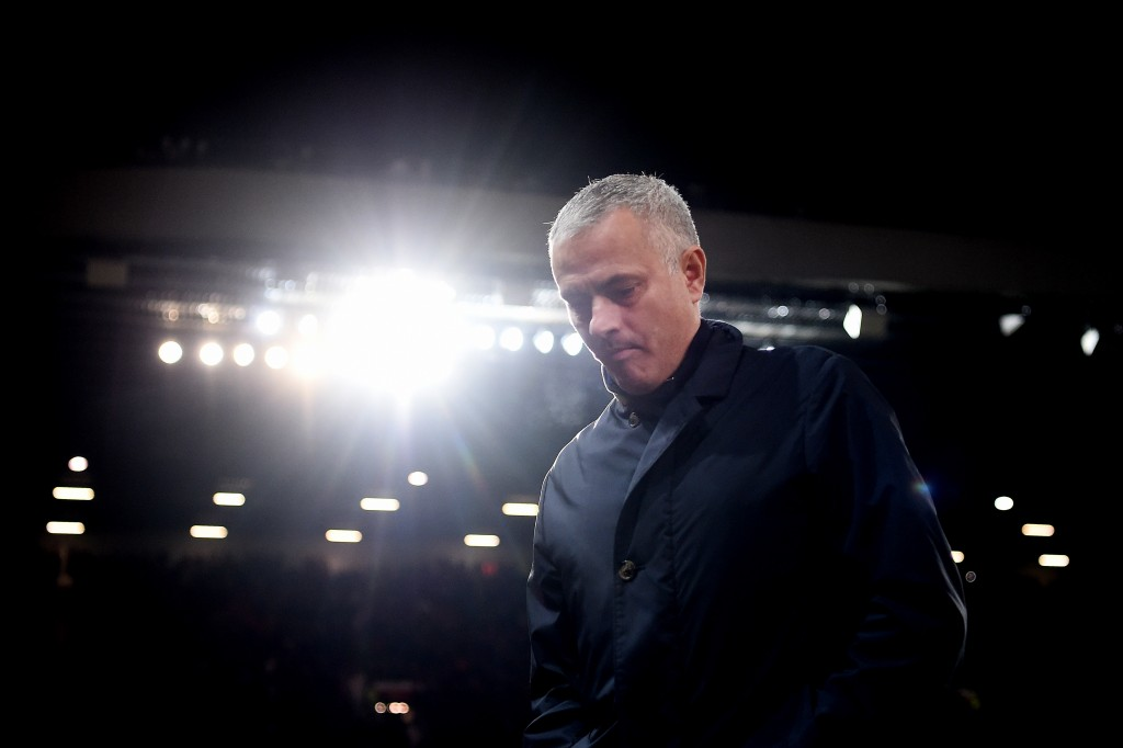 The spotlight, as always, is on Jose. (Picture Courtesy - AFP/Getty Images)