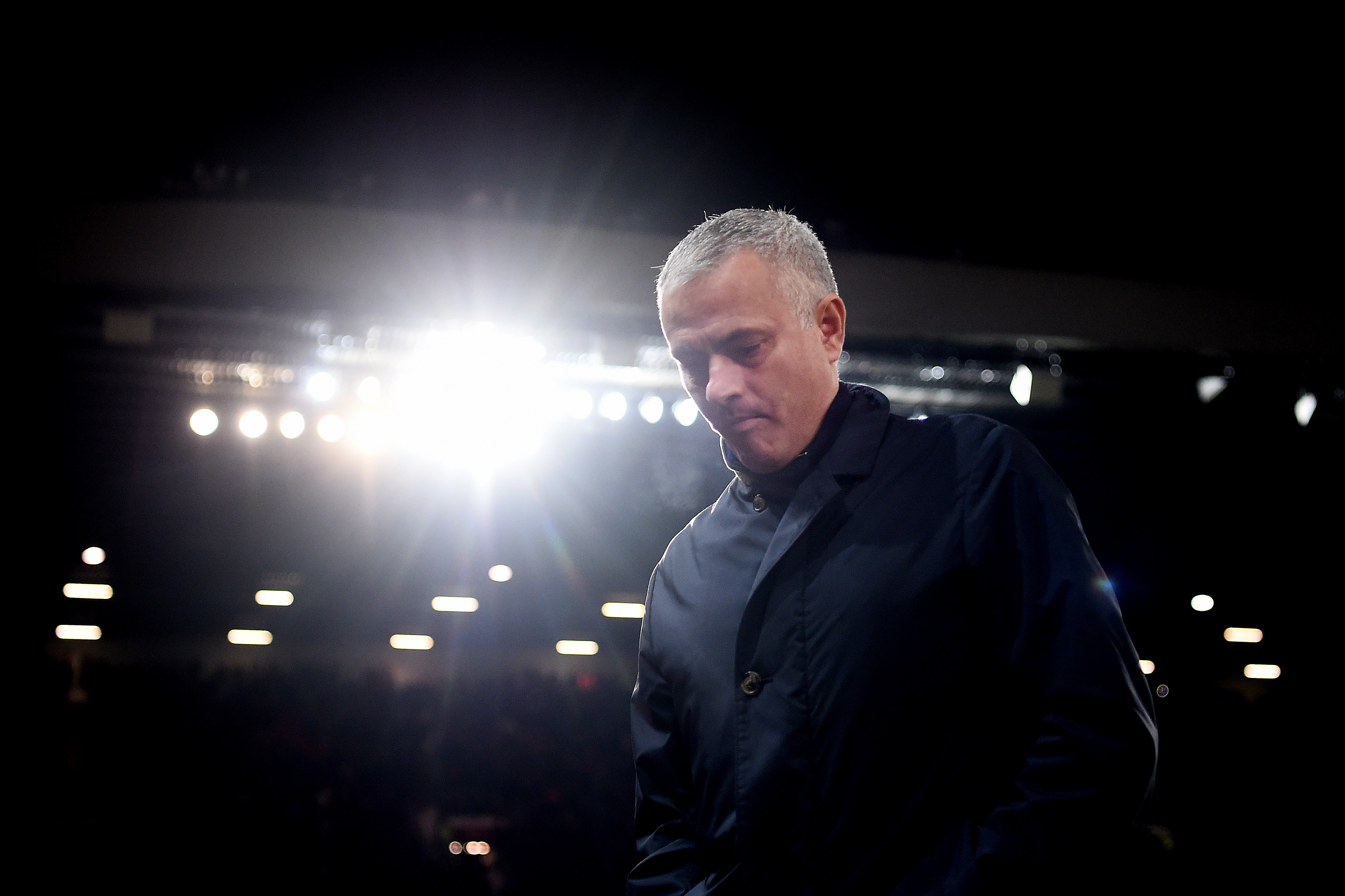 Mourinho's methods starting to be questioned after recent results (Picture Courtesy - AFP/Getty Images)