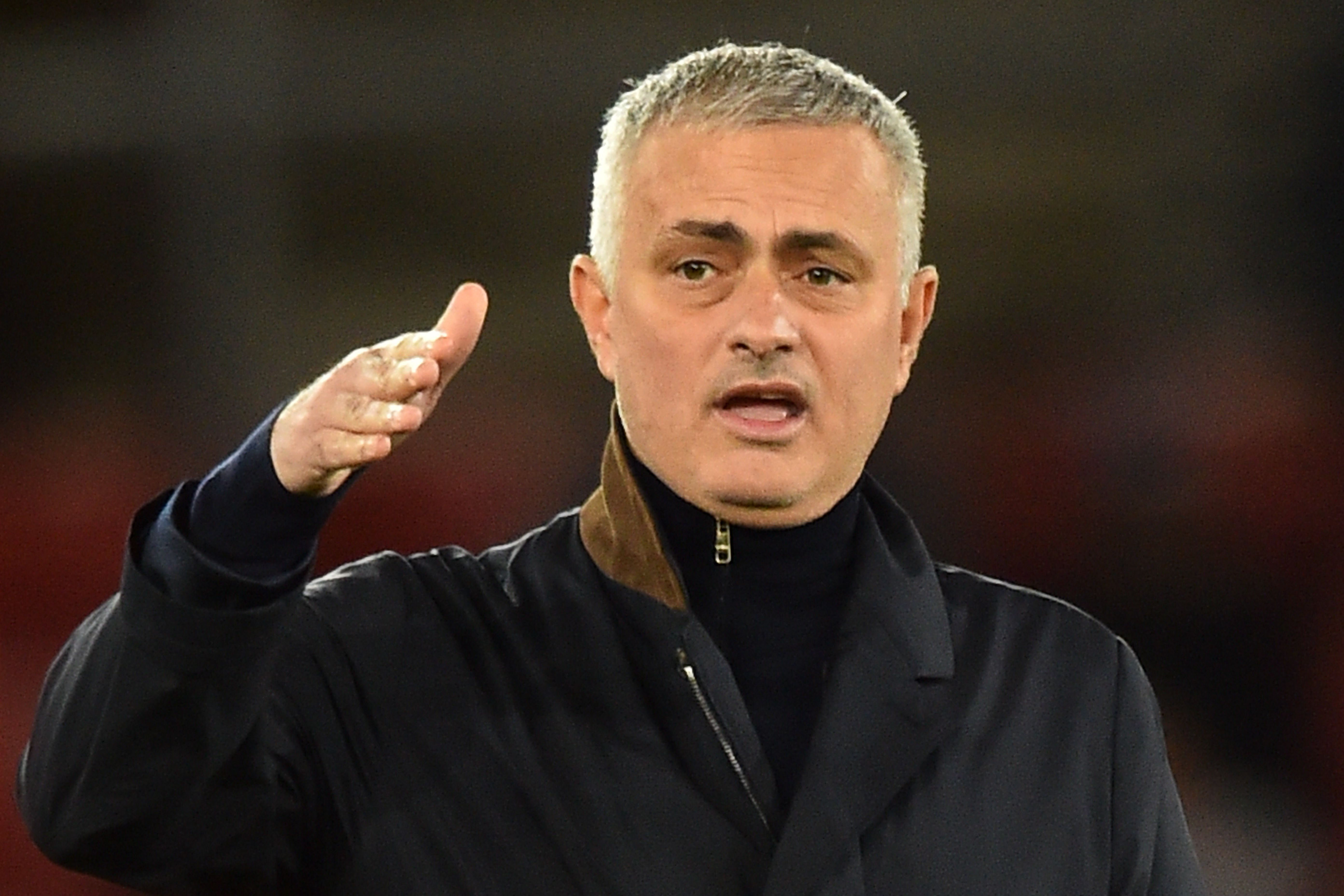 Mourinho to reunite with Zouma at Roma? (Photo by GLYN KIRK/AFP/Getty Images)