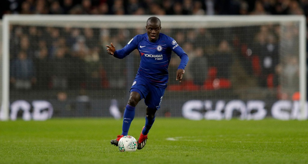Kante the ideal target for Manchester United feels Danny Murphy (Photo by ADRIAN DENNIS/AFP/Getty Images)