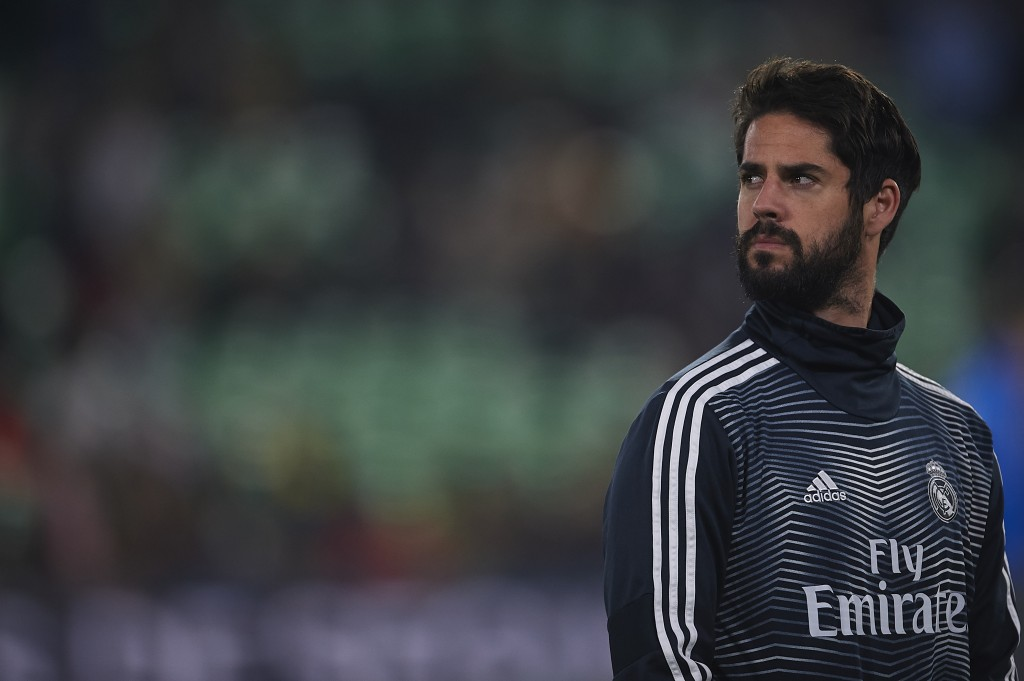 Isco has grown frustrated with the lack of first-team minutes coming his way. (Photo by Aitor Alcalde/Getty Images)