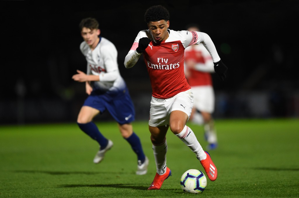 Xavier Amaechi - The next big thing in Arsenal's academy? (Photo by Harriet Lander/Getty Images)