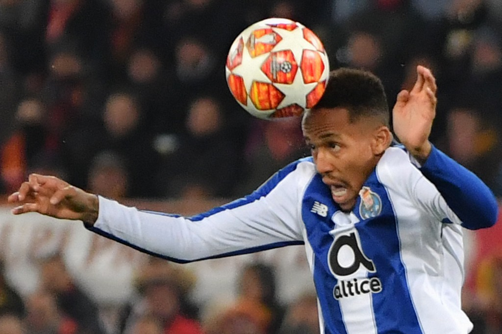 Eder Militao is heading towards Madrid this summer. (Photo by Andreas Soriano/AFP/Getty Images)